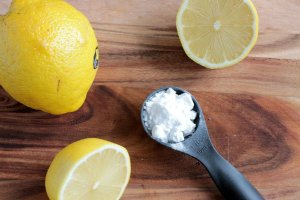 Baking Soda, Lemon Water